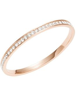 Clem Narrow Crystal Band Bangle Bracelet