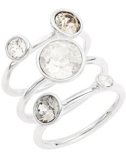 Jackie Jewel Stacked Rings
