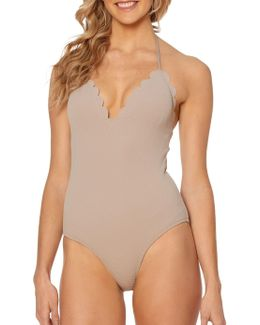 Under The Sea One-piece Halter Maillot