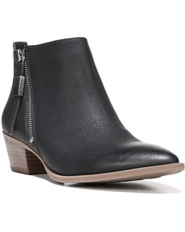 Heidi Zipped Ankle Boots