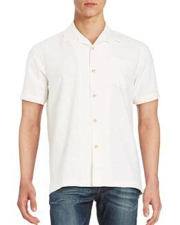 Textured Silk Sportshirt