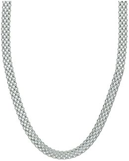 Sterling Silver Chain-link Necklace