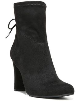 Janet Faux-Suede Ankle Boots