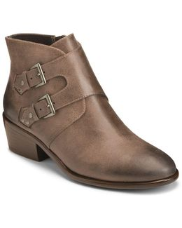 Urban Myth Almond Toe Ankle Boots