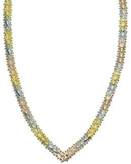 V-style Sterling Silver Necklace