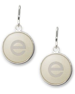 Initial E Necklace Charm