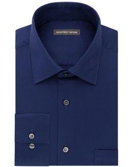Go Long Sleeve Dress Shirt With Point Flex Collar