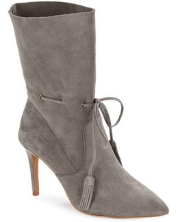 Rowdy Suede Ankle Booties