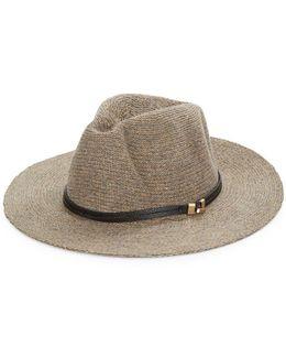Wool-blend Panama Hat