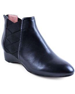Folks Nappa Leather Booties