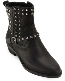 Shaelyn Casual Studded Booties