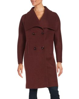 Envelope Collar Coat