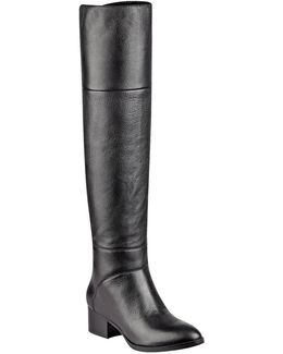 Gianna Leather Over-the-knee Boots