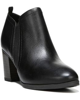 Banner Leather Ankle Length Boots