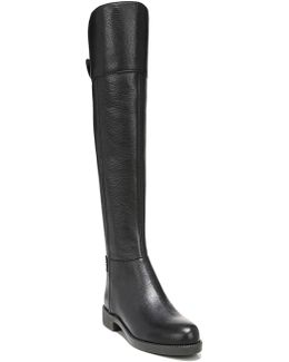 Christine Leather Over-the-knee Boots