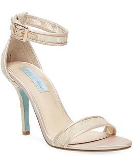 Shilo Satin Sandals