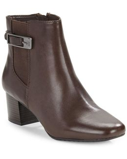 Lethia Leather Ankle Boots