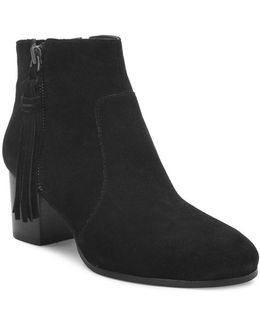 Josie Suede Ankle Boots