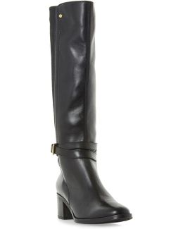 Vivv Leather Knee-high Boots
