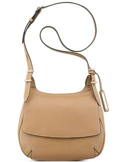 Beleka Textured Leather Crossbody Bag