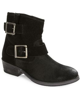 Castanets Suede Ankle Boots