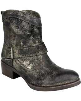Metalicah Leather Ankle Boots