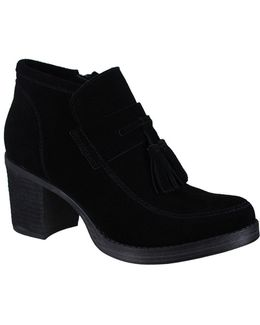 Shayla Suede Ankle Length Boots
