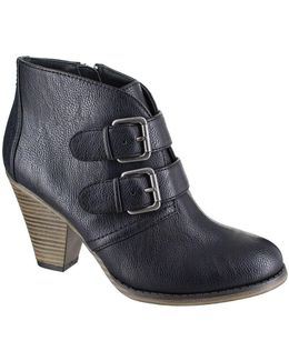 Farris Double Buckle Ankle Boots