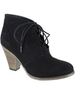 Fianna Suede Lace-up Ankle Boots
