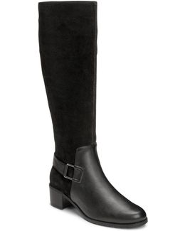 After Hours Suede Knee High Boots