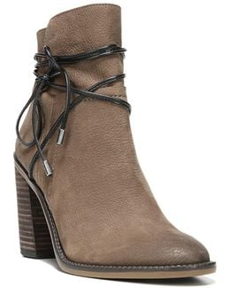 Edaline Leather Ankle Boots