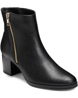 Boomerang Ankle Boots