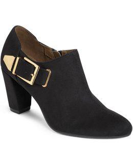 Effortless Faux Suede Slip-on Shoes