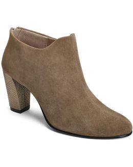 Trust Worthy Leather Booties