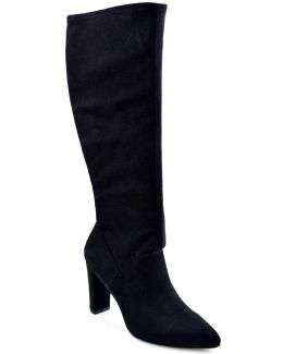 Nanni Suede Point Toe Boots