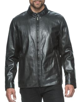 Rhinecliff Leather Moto Jacket