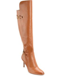 Philena Leather Knee-high Boots