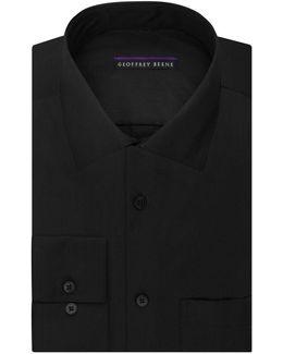 Sateen Regular-fit Dress Shirt