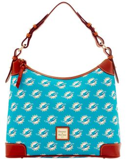 Miami Dolphins Printed Hobo