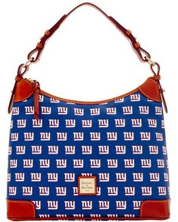 New York Giants Coated Cotton Hobo