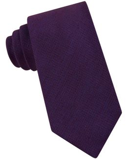 Four In Hand Woven Silk Blend Tie