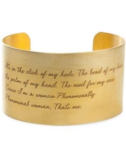 'legacy Collection - Phenomenal Women' Wrist Cuff