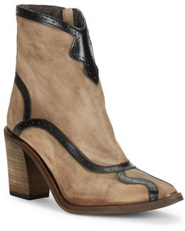 Winding Road Leather Ankle Boots