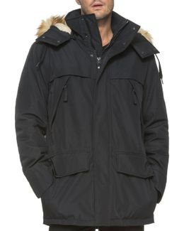 Stowe Faux Fur Trimmed Hooded Jacket