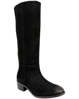Stride Suede Tall Shaft Boots