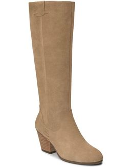 Festivities Suede Knee-high Boots