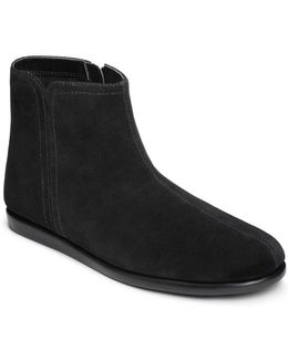 Willingly Suede Side Zip Ankle Boots