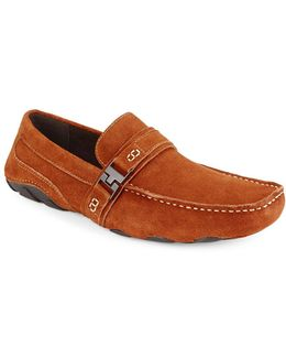 Toast Suede Loafers