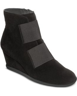 Get Fit Suede Ankle Boots