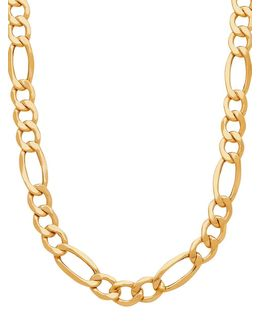 14k Yellow Gold Chain-link Neckalce